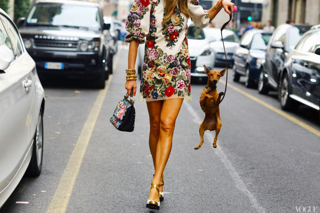 la-modella-mafia-Anna-Dello-Russo-fashion-editor-street-style-Spring-2013-Dolce-Gabbana-dress-and-bag-vogue-1024x682